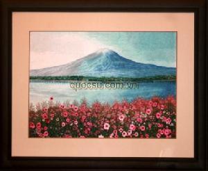 Núi Phú sĩ hoa anh đào - PA-043