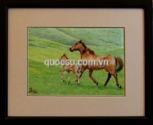 Ngựa mẹ con 1 - AN-049