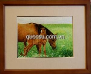Ngựa mẹ con 2 - AN-051
