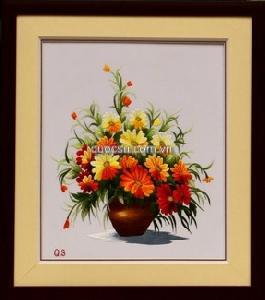 Bình hoa cúc 1 - QS.r-070