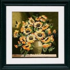 Bình hoa hướng dương - QS.d-031