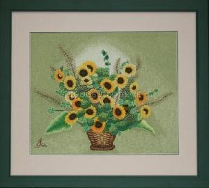 Giỏ hoa hướng dương - FL-054