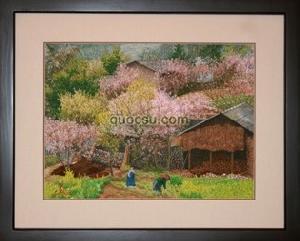 Hoa đào Sapa 2 - VN-049