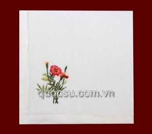 Khăn tay hoa 25