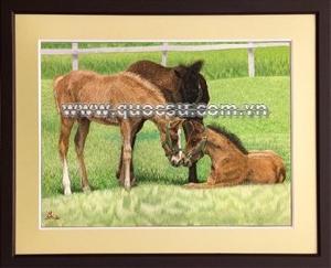Ngựa mẹ con 3 - AN-064