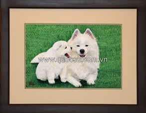Chó mẹ con - AN-081