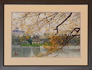 Hồ Gươm mùa thu - VN-081c