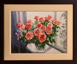 Bình hoa hồng 2 - FL-182