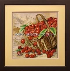 Giỏ cherry đỏ - PA-163